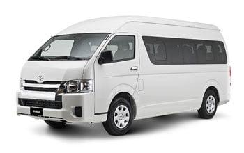 Rental Toyota Hiace Lombok, Mobil Rombongan kecil untuk disewa. sewa hiace lombok