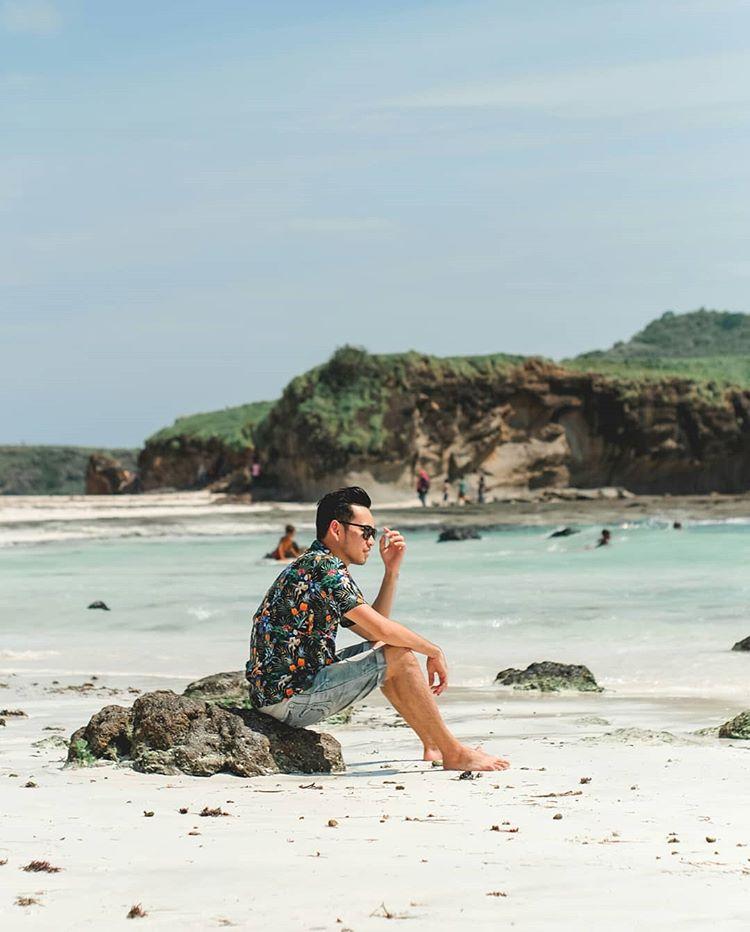 Pantai Tanjung Aan, sumber ig lombokexperience