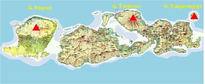Gunung berapi di nusa tenggara barat - potensi wisata ntb
