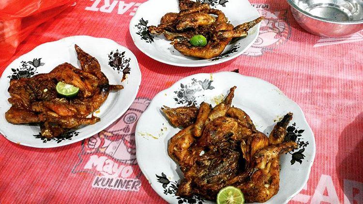 Ayam Taliwang Pak Udin Mataram Lombok, sumber ig @ayumustika19