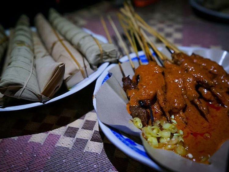 Sate Bulayak Lombok, sumber ig @abd.d.n