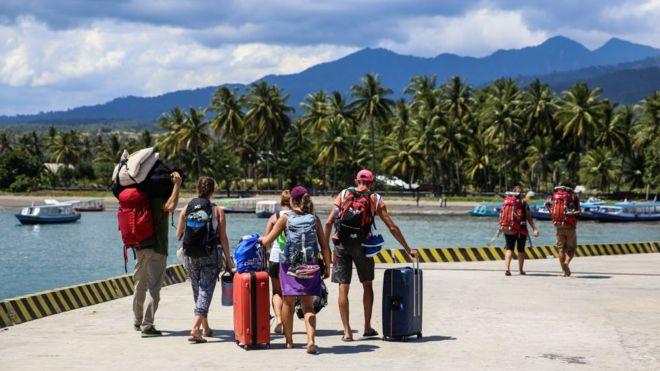 Kondisi Lombok Pasca Gempa Bumi