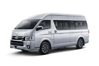 Perusahaan Tempat Rental Toyota Hiace di Lombok