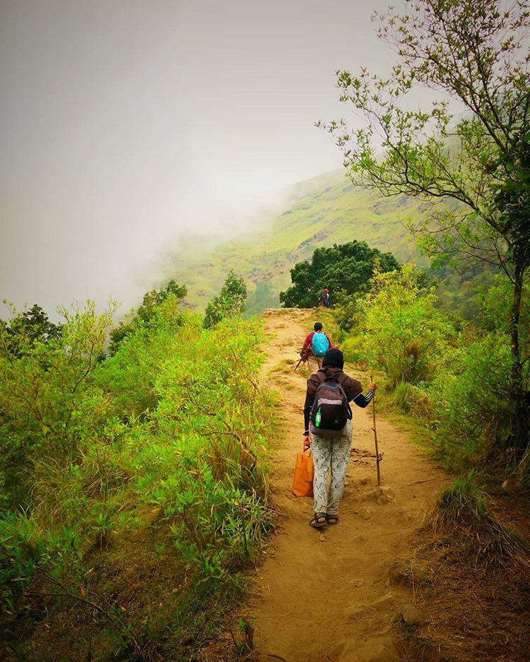 Pendakian Menuju Bukit Nanggi Lombok, sumber ig dyanoktav