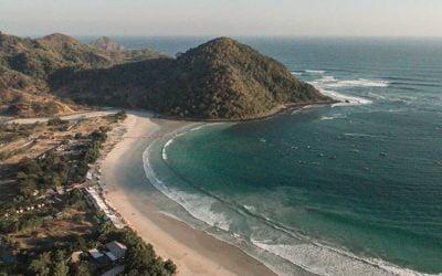 Pesona Pantai Selong Belanak di Lombok