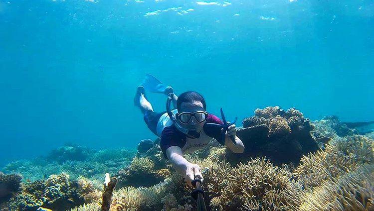 Bersnorkeling di Gili Sulat, sumber ig exploresugian