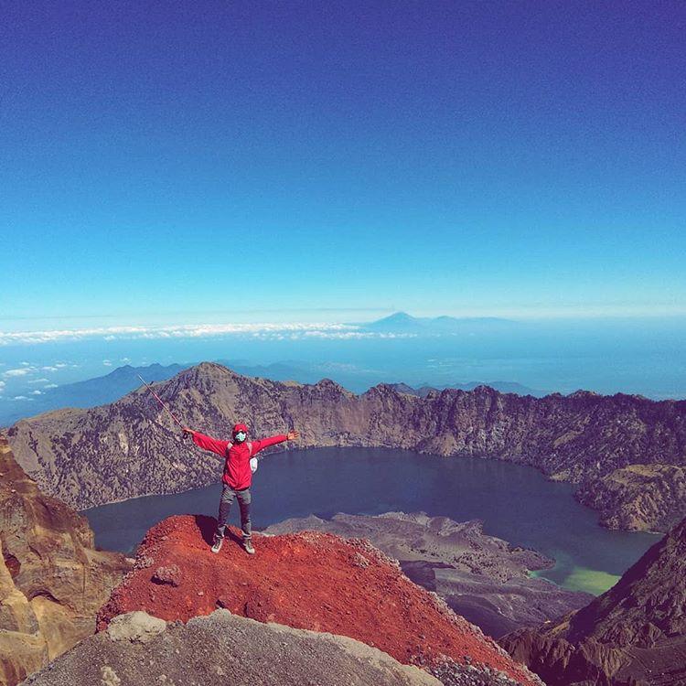 Gunung Rinjani, sumber ig didik3999