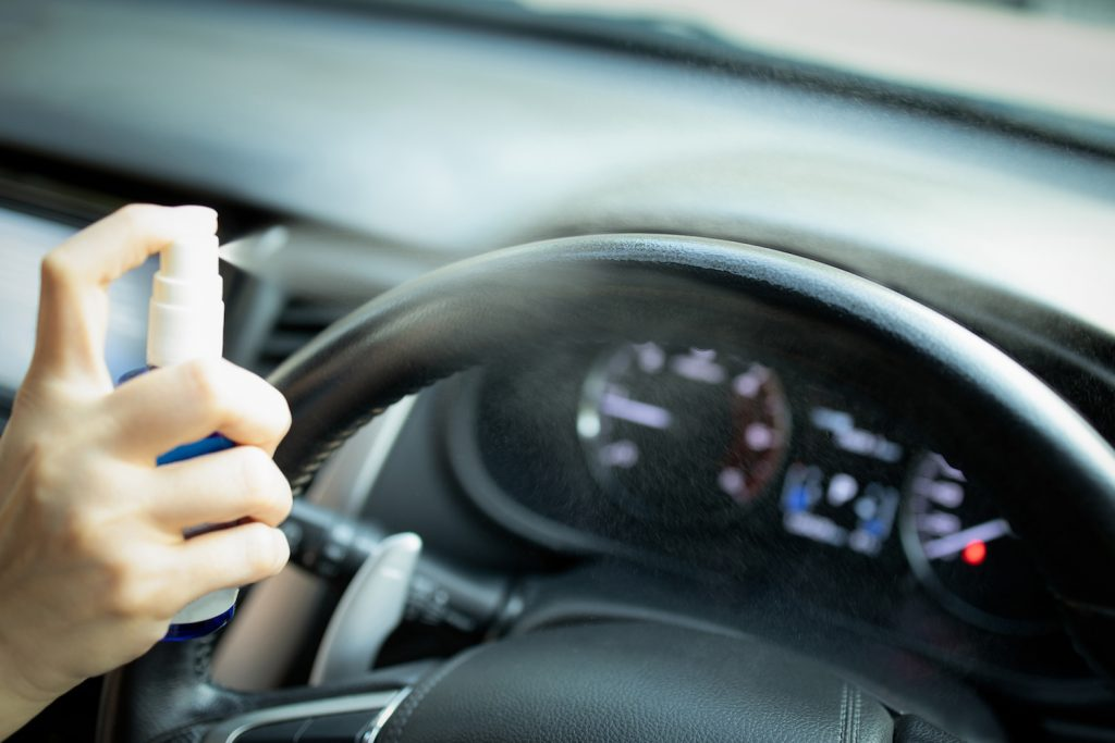 Membersihkan Virus dari Mobil, sumber : CarProUSA